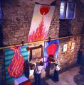 VLS Pm kiállítás GOS műveivel, Szentendre, 1978
