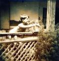 A tornácon, Ozora, 1954-55 kl