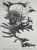 Jelenések könyve, 2007, tus, színes tinta, papír, 43x32 cm