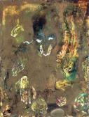 A nagy varázsló, 1964, olaj, papír, 32x24 cm