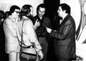 Kiállítása, FMK, 1976 (jobbról Pozsgay Imre, Kecskeméti Károly ig. és GOS)