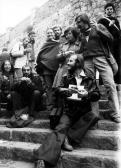 VLS Szabadtéri Tárlat, Szentendre, 1976 (elöl GOS, balra K. Kovács Imre, jobbra Agócs Attila)