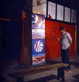 VLS Pm kiállítás középen GOS műveivel, Szentendre, 1978