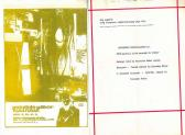 Költészet másodállásban II., szórólap, FMK, 1979