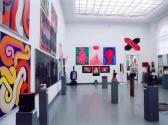 A VLS Jubileumi Kiállítása, Műcsarnok, 2002 (részlet, szemben GOS művei)