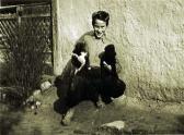 A kutyáimmal, Ozora, 1955 kl