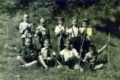 A hittanosok, Ozora, 1957 kl (GOS alul balról a második)