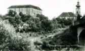 Az Ozorai vár látképe, 1960-as évek
