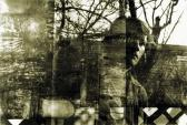 Nagyapám udvarán, fotómontázs, Ozora, 1962 kl